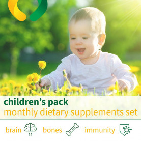 Children's pack - monthly dietary supplements set