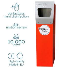 AUTOMATIC NON-CONTACT DISINFECTANT STATION WITH MOTION SENSOR